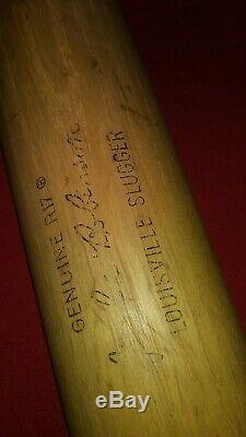 Vintage Jackle Robinson Louisville Slugger Baseball Bat R17 34' 36 oz Dodgers
