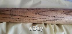 Vintage Joe DiMaggio Louisville Hillerich & Bradsby 125J Powerized Baseball Bat