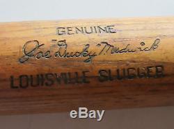 Vintage Joe Ducky Medwick Louisville Hillerich Bradsby Slugger Baseball Bat NICE
