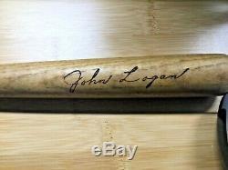 Vintage John Logan Milwaukee Braves Louisville Slugger Mini Baseball Bat