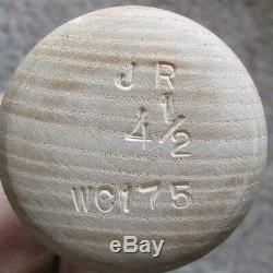 Vintage Johnny Ray Cracked Game Used Baseball Bat Pittsburgh Pirates Rare