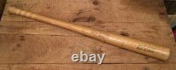 Vintage LOUISVILLE H&B 9 Baseball Bat Jackie Robinson League Leader Model Used