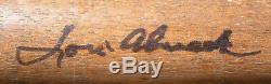 Vintage Lou Almada, Cece Carlucci, Herm Reich Etc. Autographed Baseball Bats PCL