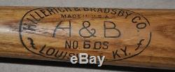 Vintage Lou Gehrig Hillerich & Bradsby Baseball Bat Must See NY Yankees NoRes