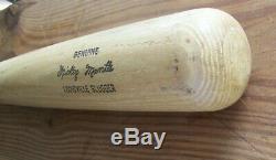 Vintage Louisville Slugger 125 H&B Wood Baseball Bat Mickey Mantle Model 34