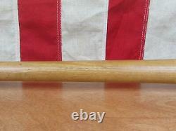 Vintage Louisville Slugger Baseball Bat withWilson Glove Both Al Kaline HOF Tigers