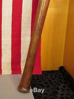 Vintage Louisville Slugger H&B Antique Wood Baseball Bat 125 Dot-Dash 35 Nice