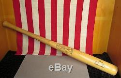 Vintage Louisville Slugger H&B Wood 125 Baseball Bat Nelson Fox Model 33 Nice