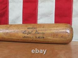 Vintage Louisville Slugger H&B Wood 125 Baseball Bat Ralph Garr Model 33 Braves