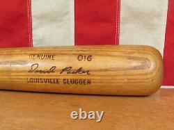 Vintage Louisville Slugger H&B Wood Baseball Bat Dave Parker Model 32 Pirates