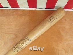 Vintage Louisville Slugger H&B Wood Baseball Bat Jackie Robinson Model 34 HOF