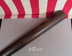 Vintage Louisville Slugger JF Hillerich & Son Antique Wood Baseball Bat Dot 34