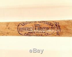 Vintage Louisville Slugger Roberto Clemente H&B 125 Baseball Bat LOOK & READ
