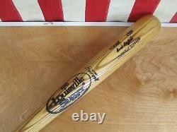 Vintage Louisville Slugger Wood 125 Baseball Bat Ivan DeJesus Model 35 Game Bat