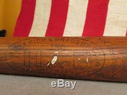Vintage Louisville Slugger Wood Baseball Bat Brooks Robinson Grand Slam 34 HOF