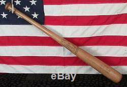 Vintage Louisville Slugger Wood Baseball Bat HOF Mickey Mantle Model Yankees