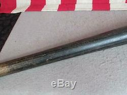 Vintage Louisville Slugger Wood Baseball Bat Ted Williams Model Red Sox HOF 33