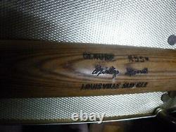 Vintage MICKEY MANTLE Louisville Slugger K55 34 34.5 OZ. BASEBALL BATNO CRACKS