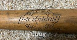 Vintage McKinnon Baseball Bat #20 The Kind Youve Always Wanted 29 Rare