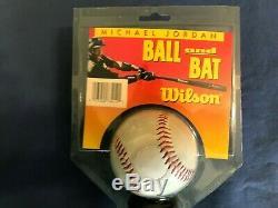 Vintage Michael Jordan Ball And Bat (Wilson) (1994)