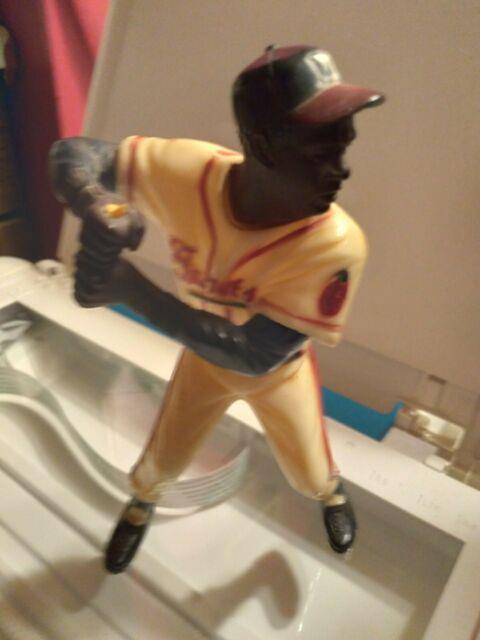 Vintage Milwaukee Braves Hank Aaron Hartland Plastics Statue 1950s Missing Bat