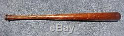 Vintage Miniature Baseball Bat, Louisville Slugger 40, Lou Gehrig, Orig. Finish