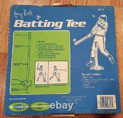Vintage NOS George Brett Batting Tee Set 1983 by Cosum Schaper Baseball NEW