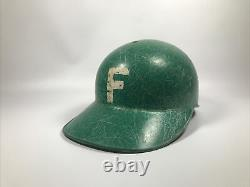 Vintage New York Farmingdale High School Baseball Batting Helmet