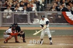 Vintage New York Yankees Game Worn Clete Boyer Baseball Batting Helmet 1966