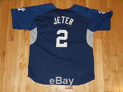 new arrival 66b02 6eb1f Vintage Nike Derek Jeter New York Yankees Youth Mlb Batting ...