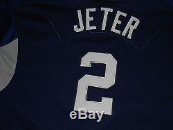 Vintage Nike Derek Jeter New York Yankees Youth Mlb Batting Practice Jersey  Lrg 6d26ccbf83c