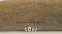 Vintage Old 1920s Hilton Collins Baseball Bat-old Time Warclub-excellent