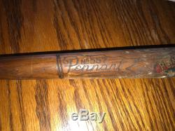 Vintage PENNANT 22 inches Baseball Bat #557 Early 1900's Cleveland