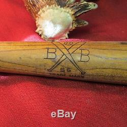Vintage RARE! B-B 56 Trademark, Regulation Baseball Bat, 34, 36 oz. Very Nice