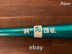 Vintage Rawlings Aluminium Green Lite Stik Softball Baseball 34 Inch Bat