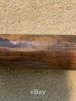 Vintage Spalding #206 1919-1922 Ash Baseball Bat 33 1/2