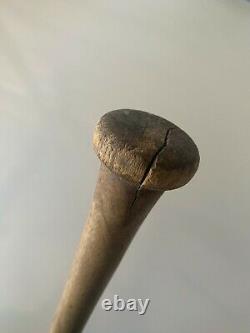 Vintage Spalding Baseball Bat Model A Old Hickory