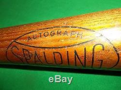 Vintage Spalding Earl Averill baseball Bat HOF