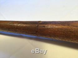 Vintage Spalding Gold Medal Baseball Bat Early 1900s