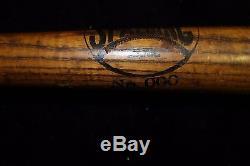 Vintage Spalding NO. 000 Trade Mark Wagon Tongue Baseball Bat