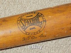 Vintage Spalding Turn of the Century Willow Baseball Bat
