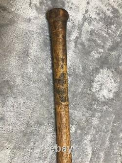 Vintage Spalding YMCA Baseball Bat Wood RARE Circa 1920S