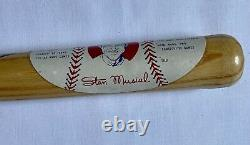Vintage Stan the Man Stan Musial Mini Wood Baseball Bat, St. Louis Cardinals