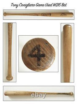 Vintage Tony Conigliaro W215 Louisville Slugger Red Sox Game Used Bat