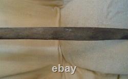 Vintage Town Ball Bat 1800's Flat Barrel Baseball Bat 32 Inches Long