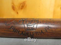 Vintage Tryon Wood Baseball Bat Antique Playground Hickory Philadelphia, PA. 33