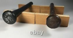 Vintage Visiting Clubhouse Montreal Expos Game Used Baseball Bat Push Up Bars