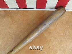 Vintage Wilson Wood Baseball Bat with Hiawatha Leather Glove Both Al Rosen Indians
