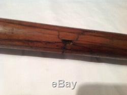 Vintage baseball bat 1920 side written