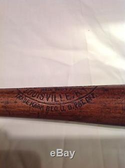 Vintage baseball bat Austin McHenry